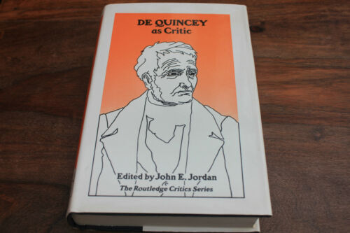 1 of 1 - De Quincey as Critic (Hardback, 1973)