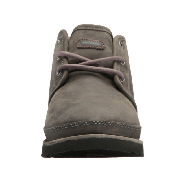 50143dfc619 UGG Australia Neumel Classic Waterproof Charcoal Grey Men 9