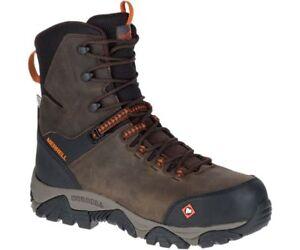 Merrell-Men-039-s-J45315-Phaserboud-Composite-Toe-Waterproof-Safety-Side-Zip-Boots