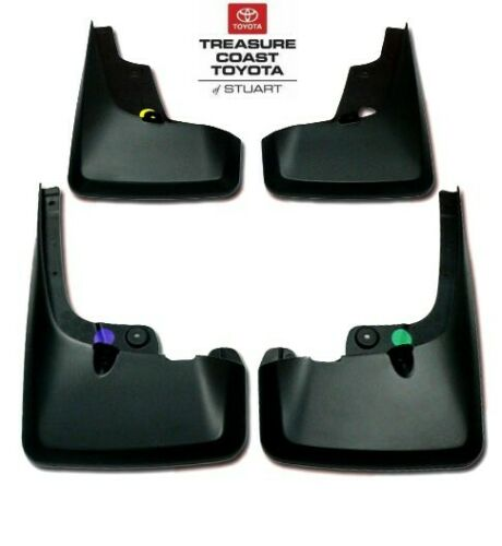 NEW OEM TOYOTA 4RUNNER 2010-2019 MUDGUARD KITS WITH SCREWS W//O GROUND EFFECTS