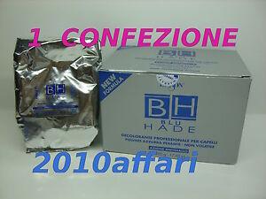 BH BLU HADE DIKSON DECOLORANTE PER CAPELLI AZIONE ANTIGIALLO - 1 BUSTA da 500 G - Italia - BH BLU HADE DIKSON DECOLORANTE PER CAPELLI AZIONE ANTIGIALLO - 1 BUSTA da 500 G - Italia