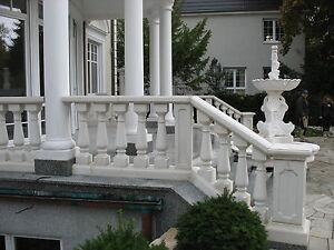 Balustraden-Hoehe-92cm-Balustrade-Baluster-Marmor-Gelaender