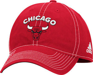 Women s Chicago Bulls Team Logo Slouch Adjustable Hat NBA Adidas ... e0d6762972