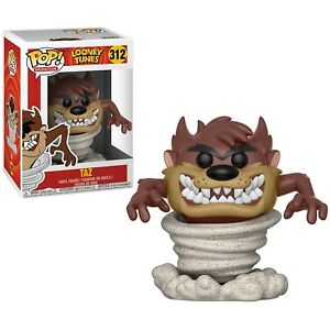 Funko-POP-Animation-Looney-Tunes-Tornado-Taz-Brand-New-In-Box