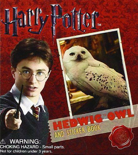 Harry Potter Hedwig Owl Kit and Sticker Book (Running Press Miniature Edition) b