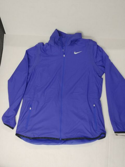 9552603e7bab NIKE WOMEN S GOLF JACKET  130 NWT 725690 SIZE Lg MAJORS FLIGHT CONVERTIBLE  BLUE