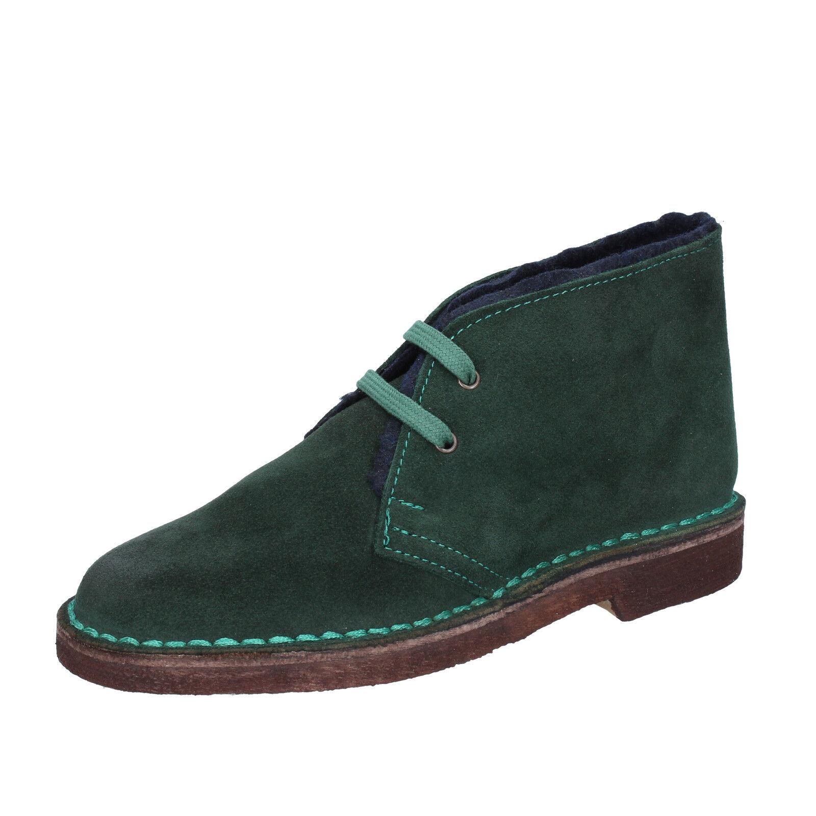 Damen schuhe KEPS BY CORAF 36 EU desert boots grün wildleder BX675-36