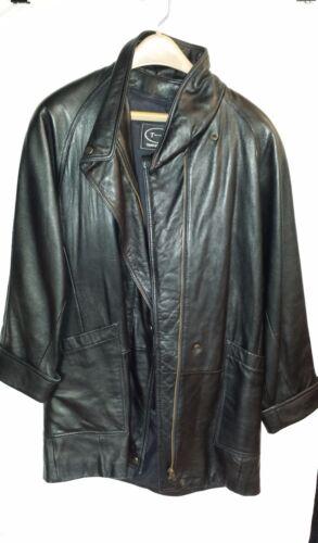 Petit doublure W Tannery Veste à amovible cuir avec noir en West glissière XwXP0Bq