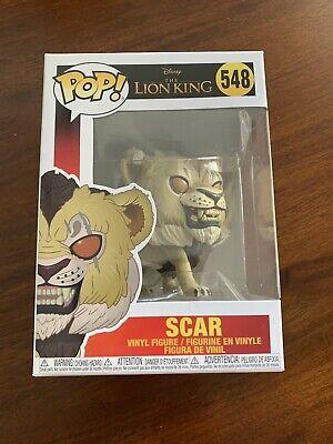 VINYL FIGURE #548 DISNEY:THE LION KING - SCAR FUNKO POP LIVE ACTION