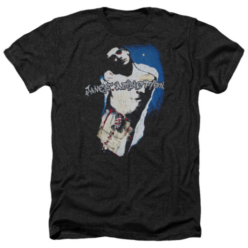 Jane/'s Addiction PERRY Licensed Vintage Style Heather T-Shirt All Sizes