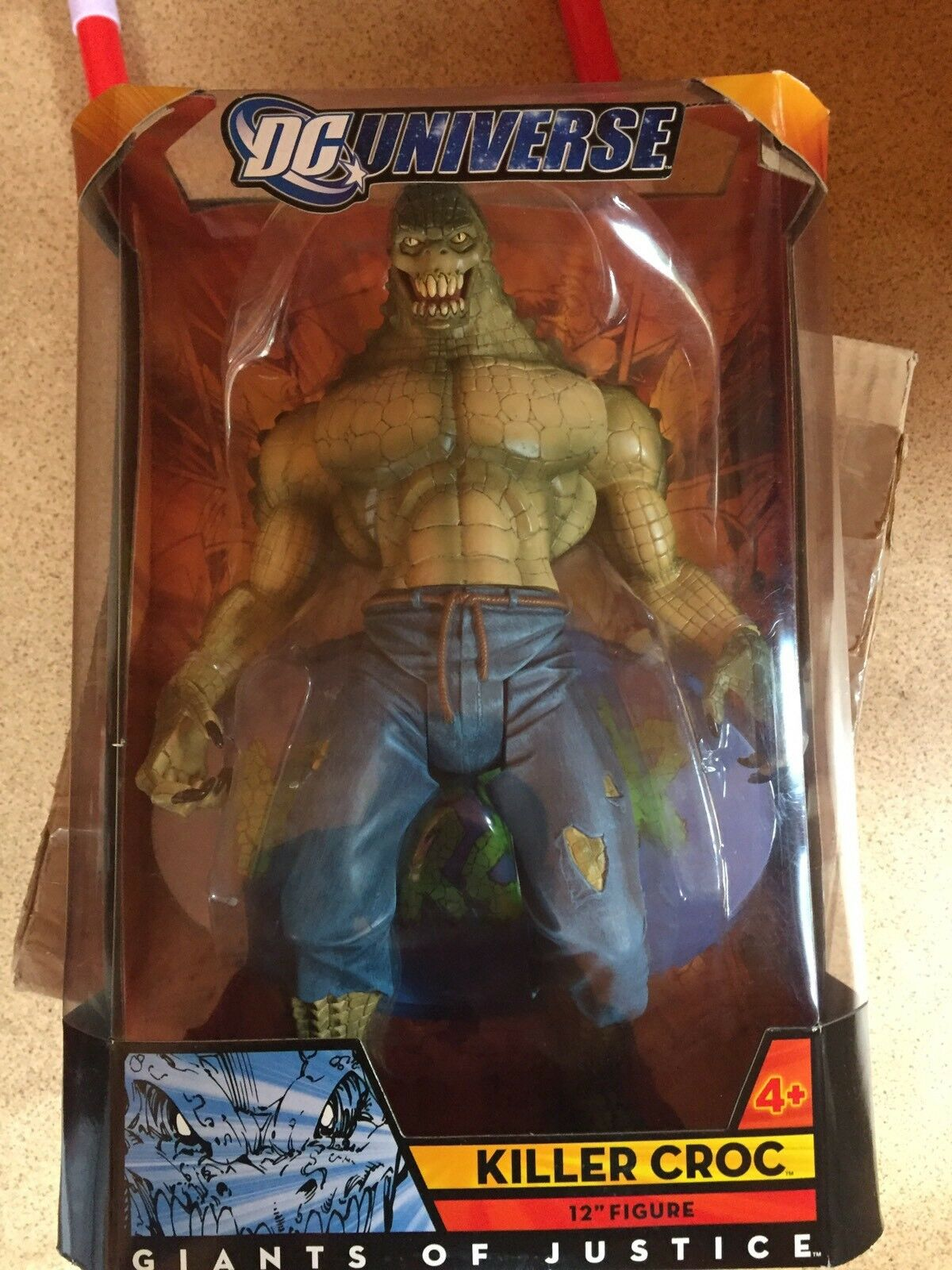 DC UNIVERSE Giants of Justice Collection Killer Croc 12  Figure Limited Edition
