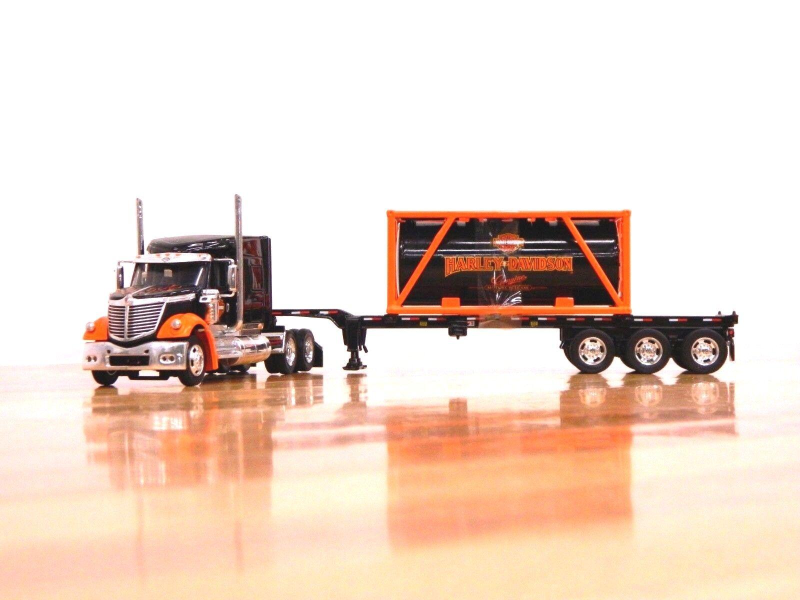 81155  harley - davidson  international lonestar w   container laden 1 64 trailer & tank