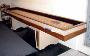 Image Is Loading SHUFFLEBOARD TABLE PLANS BUILD A GREAT TABLE OF