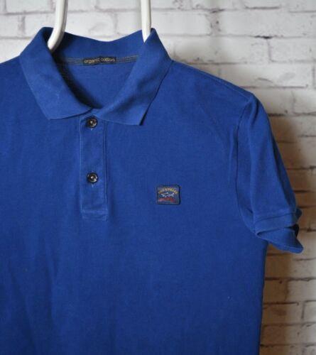 Paul & Shark Yachting Polo T-shirt Blue Men Size M
