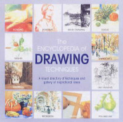 """""""AS NEW"""" Harrison, Hazel, The Encyclopedia of Drawing Techniques, Book"""
