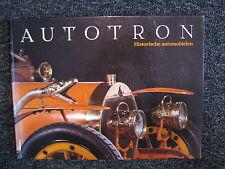 Book / Catlogue Autotron Historische Automobielen (NED) (JvH)