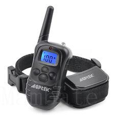 AGPtek Rechargeable 100LV Electric E-Collar Remote Pet Dog Shock Training Collar