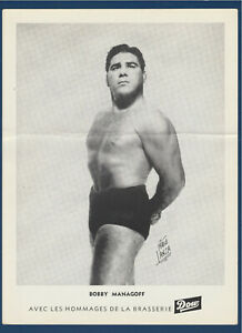 BOBBY-MANAGOFF-1950-039-s-WRESTLING-DOW-PICTURE-8-1-4-034-X-11-034-32273