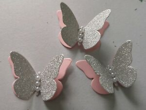 Image Is Loading 3D Paper Butterflies Table Decorations Wedding Birthday Baby