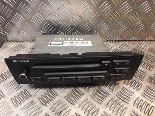 BMW Business CD Player Unidad Principal 1 3 Serie E87 E81 E90 E91 OEM Usado