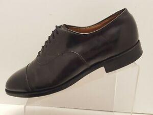Johnston & Murphy Optima Black Leather Dress Shoes Size 10 D/B