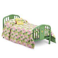 American Girl Kit's Bed & Quilt Set For 18 Dolls Kit's Furniture Blanket