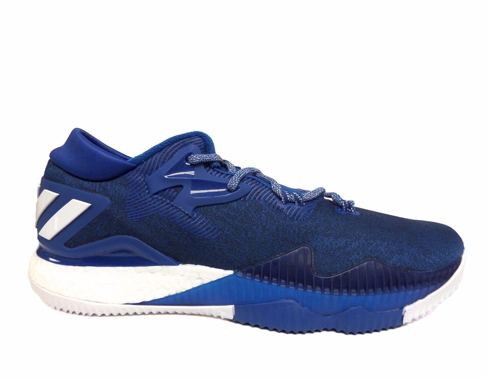 adidas männer sm crazylight auftrieb niedrigen / 2016 olympia schuhe blau / niedrigen weiß b42808 b cb49ac