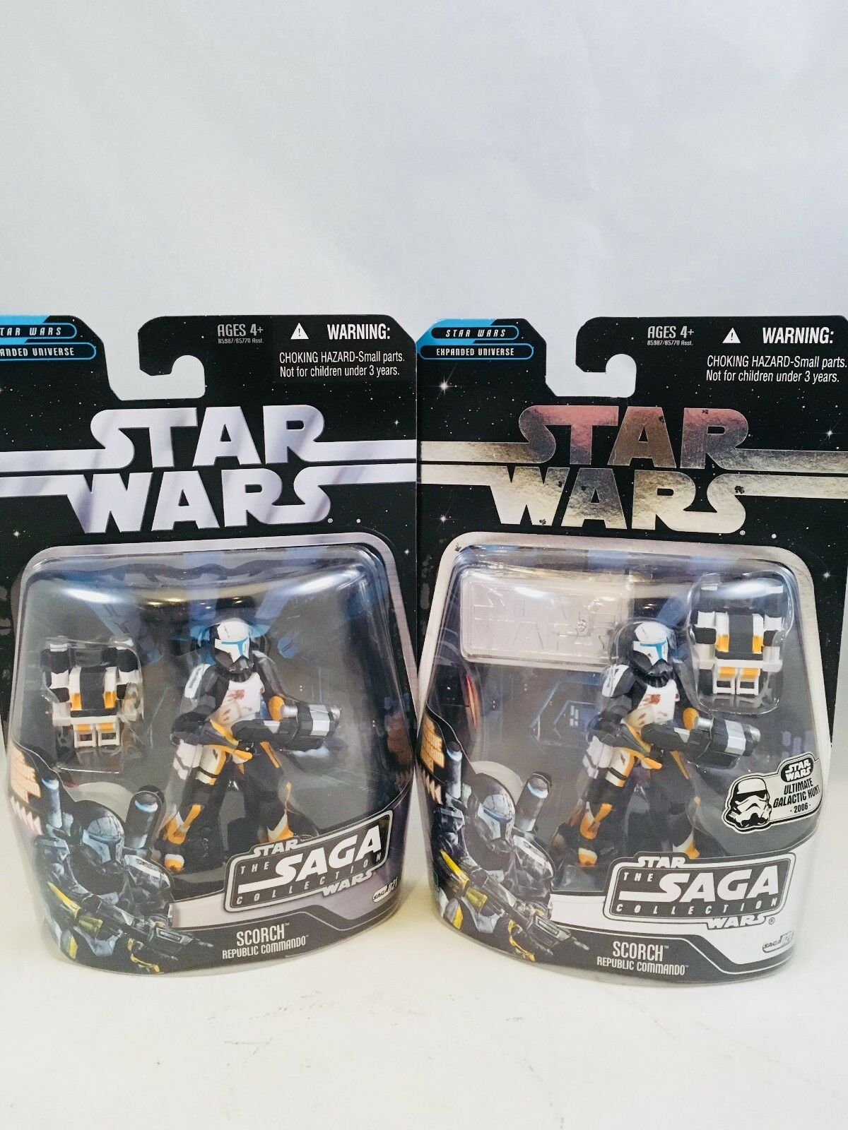 Star Wars The The The Saga Collection Scorch Action Figures Lot of 2 Variants 21bfbb