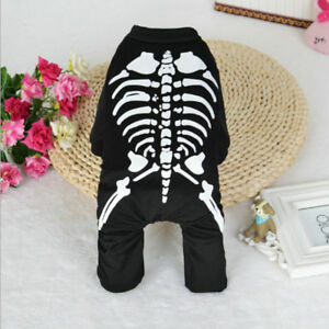 Halloween-Skull-Dog-Clothes-For-Pets-Cat-Coat-Costume-Outfit-Fancy-Dress-Apparel