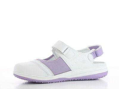 Womens Safety Shoes Lic White 4 UK 37 EU Oxypas Smooth