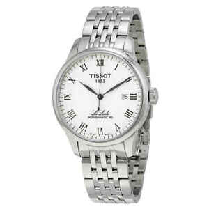 Tissot-Le-Locle-Powermatic-80-Automatic-Men-039-s-Watch-T006-407-11-033-00