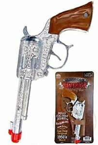 Maverick-Toy-Cap-Gun-American-Made-With-Holster-Die-Cast-Metal-High-Quality-New