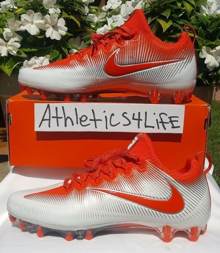 13 SIZE CLEATS FOOTBALL UNTOUCHABLE VAPOR NIKE orange PRO