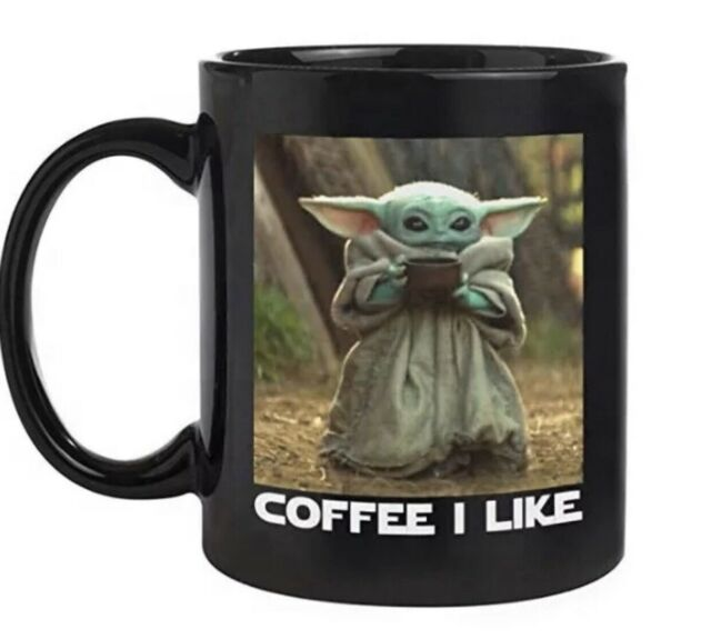 tumbler latte mug With Sayings mug Baby Yodan Football Team D o d g e r s Baby Yodan water bottle coffee mug travel mug