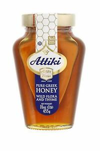 Attiki-Pure-Greek-Honey-with-Wild-Flora-and-Thyme-Honey-16-oz-Jar