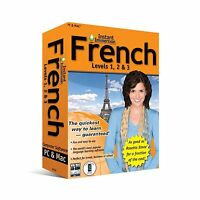 (2011 Version) Instant Immersion French Levels 1 2 & 3 Free Shipping