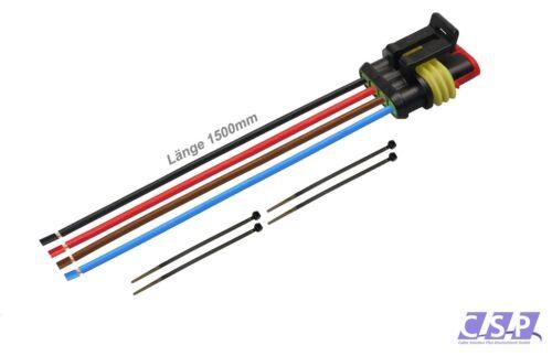 AMP Superseal 4-polig 0,50² 1500mm Buchse Steckverbinder KFZ LKW QUAD Elektrik