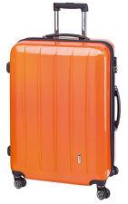 TROLLEY BOARDCASE 50 CM VALIGIA TROLLEY BAGAGLIO A MANO CON TSA Londra CARBONIO/Arancione