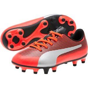 59b7450bd PUMA Spirit FG JR Soccer Cleats Kids Shoe Football Size 4~5~6.5 New ...