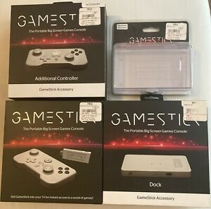 PlayJam GameStick Console and Accessories Dock Case Android RARE