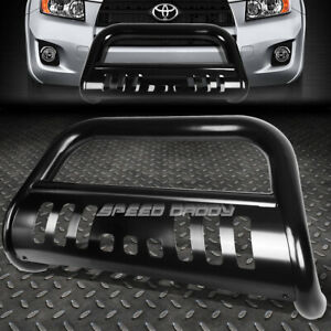 FOR-06-16-TOYOTA-RAV-4-RAV4-MATTE-BLACK-3-034-BULL-BAR-PUSH-BUMPER-GRILLE-GUARD-SKID