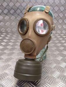 2 Gasmasks /& Filtros Respirador Original Militar Finés M61 Voz Potenciador Nuevo