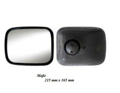 Objectif Grand Angle Miroir rampes Miroir kantstein Miroir r300 ° Panora 215x165 mm 14-20 mm