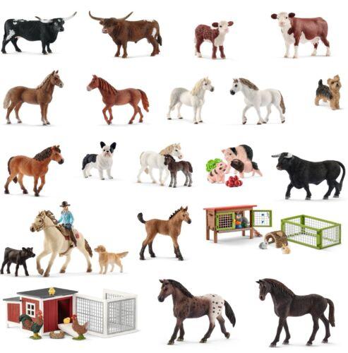 Schleich Farm World und Horse Club Neuheiten 2018 zur Auswahl Neu