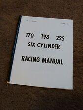 Mopar Slant 6 Cylinder Engine 170 198 225 Racing Manual Bulletin Dodge Chrysler