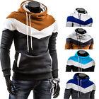 New Men Winter Slim Hoodie Warm Pullover Sweatshirt Hooded Coat Outwear Sweater