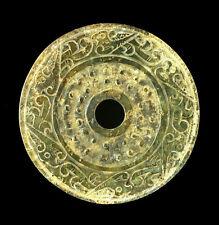TOP QUALITY ANCIENT EASTERN ZHOU JADE BI