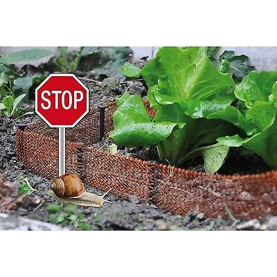 Schneckenzaun Zaun Schneckenschutz Schutz Schnecken Schneckensperre Sperre