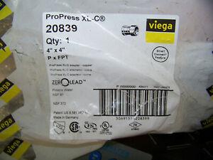 3 x 3 Viega ProPress XL Copper Adapter P x FPT