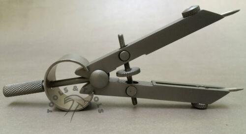 Messschieber Trenner Kompass 4/'/' Zentrum Rad Verstellung Wies Austauschbare